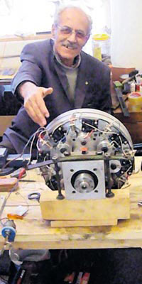 Manyetik motor elektrik üretimi